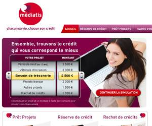 Site Internet de Mediatis